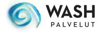 Wash palvelut logo