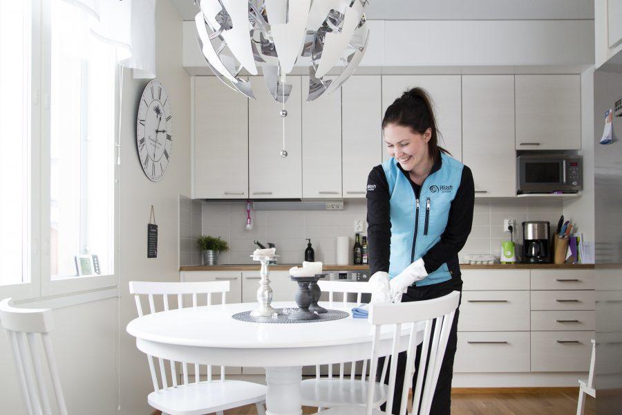 Wash palvelut - kotiin - siivooja