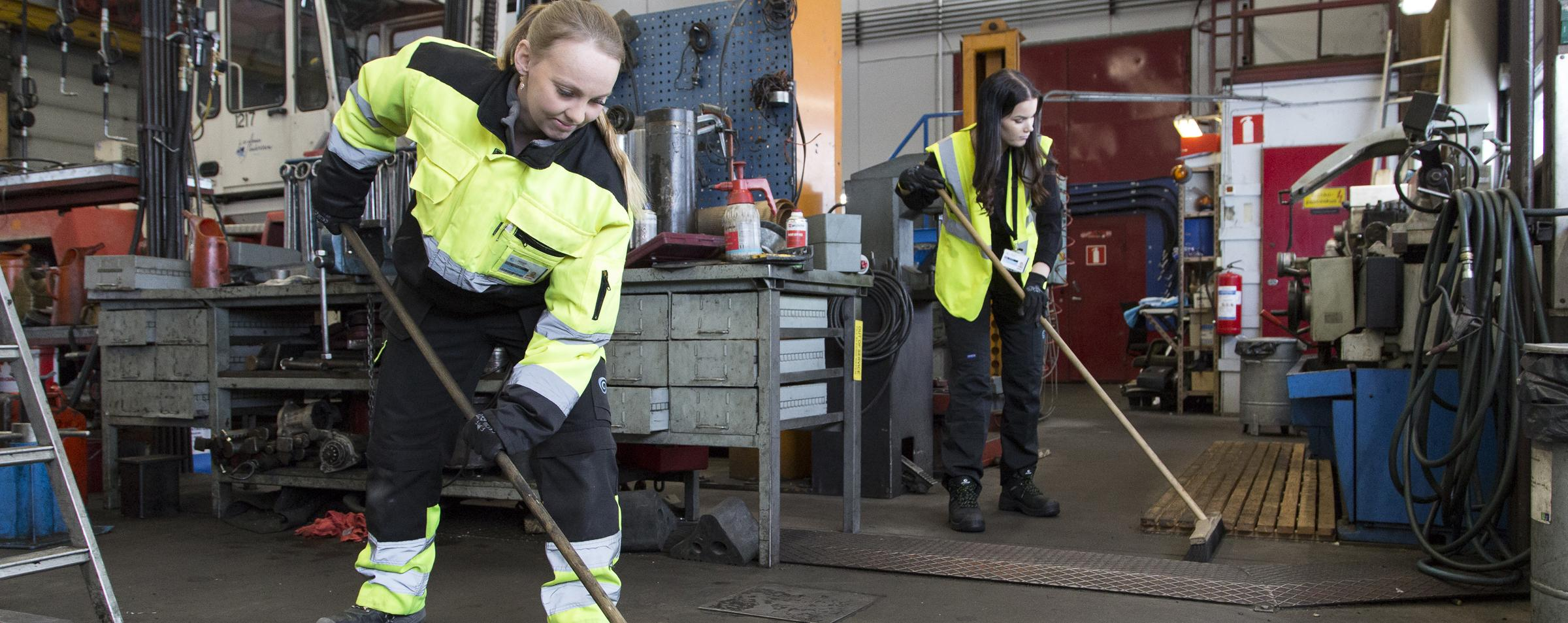 Wash palvelut - rakennusliikkeille