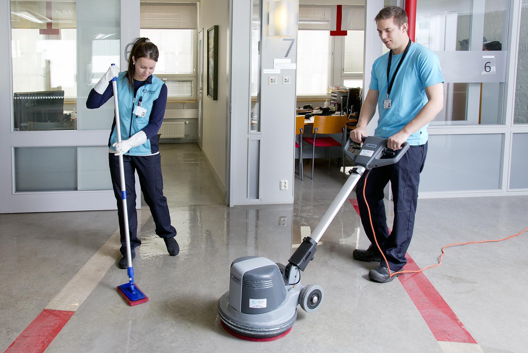 Wash palvelut - tilaustyöt - siivoojat